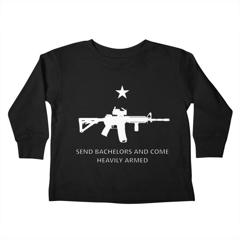 Send Bachelors Kids Toddler Longsleeve T-Shirt by Black Market Designs