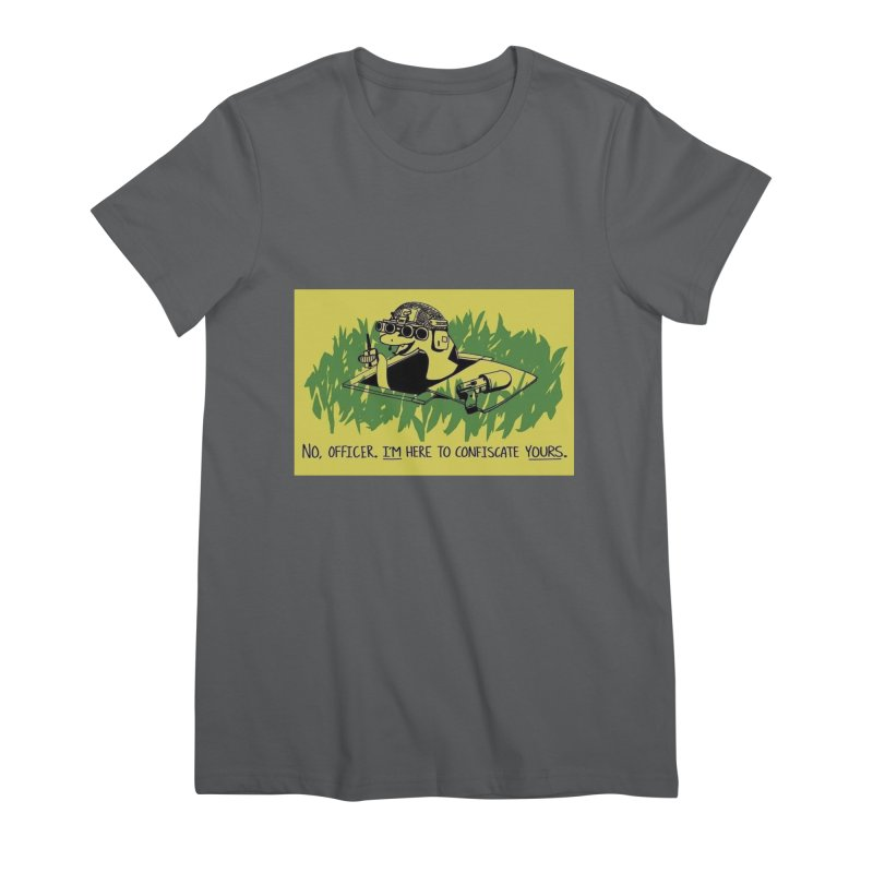 Confiscate This Women's T-Shirt by Black Market Designs