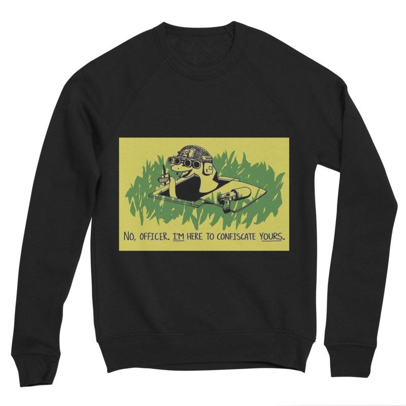 Confiscate This Men's Sweatshirt by Black Market Designs