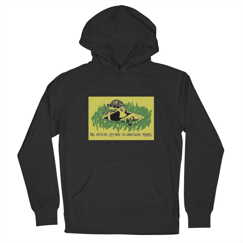 Confiscate This Women's Pullover Hoody by Black Market Designs