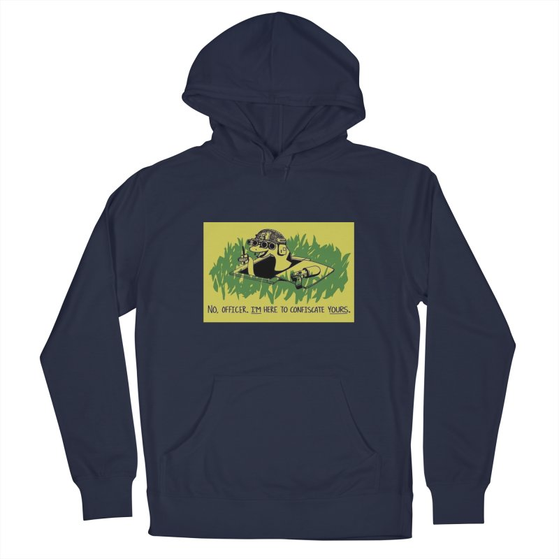Confiscate This Men's Pullover Hoody by Black Market Designs