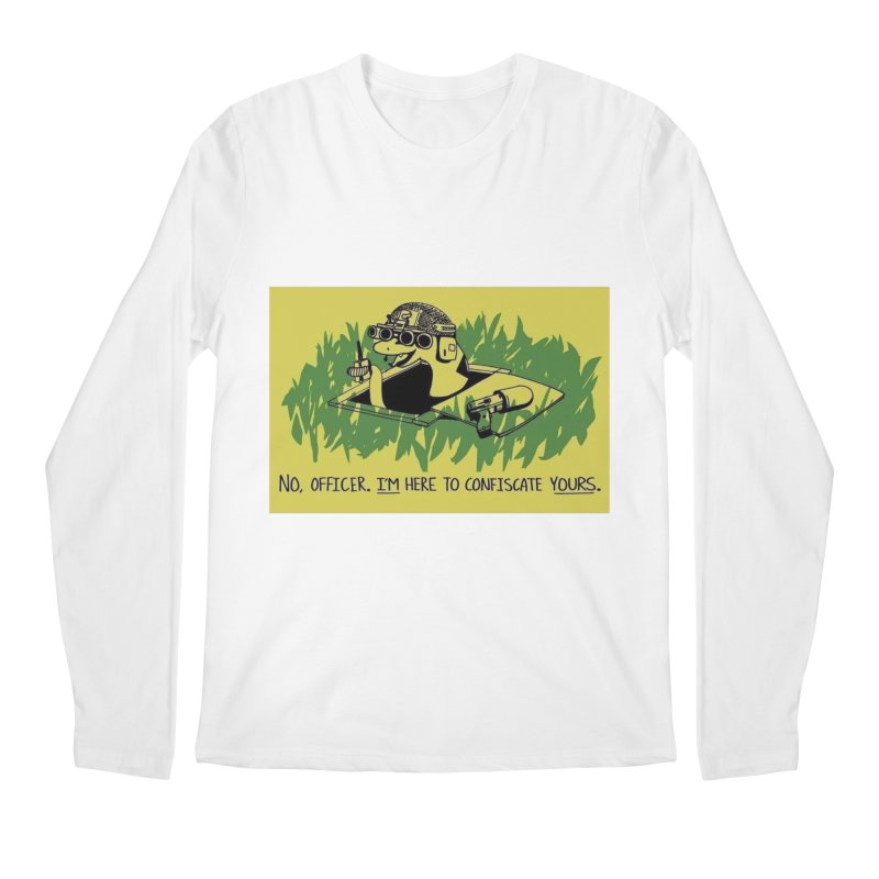 Confiscate This Men's Longsleeve T-Shirt by Black Market Designs