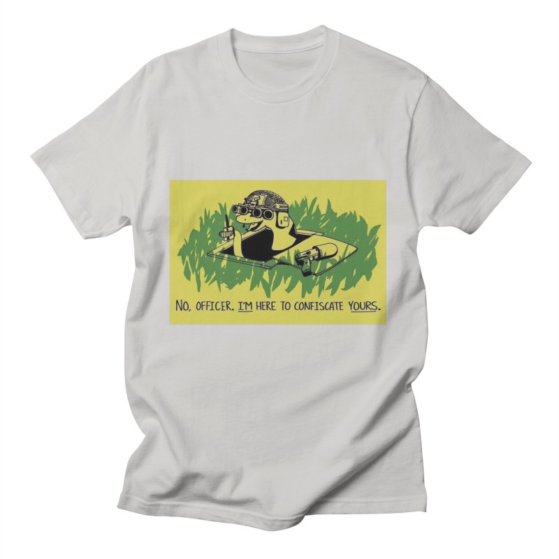 Confiscate This Men's T-Shirt by Black Market Designs