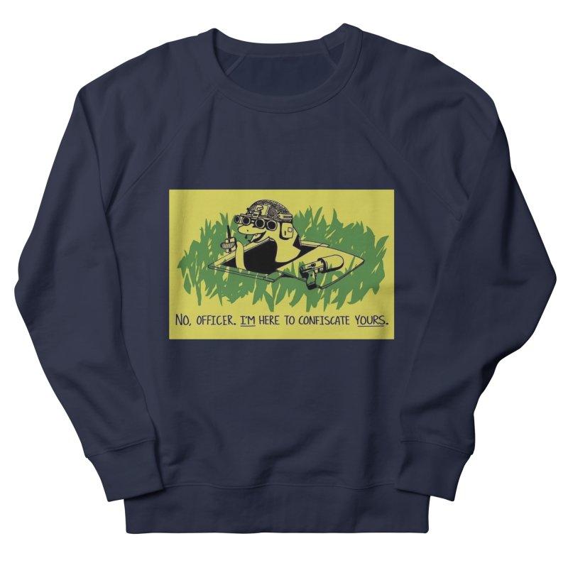 Confiscate This Women's Sweatshirt by Black Market Designs