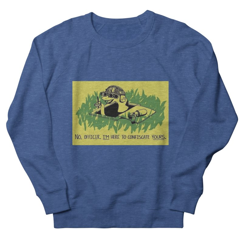 Confiscate This Men's Sweatshirt by Black Market Designs