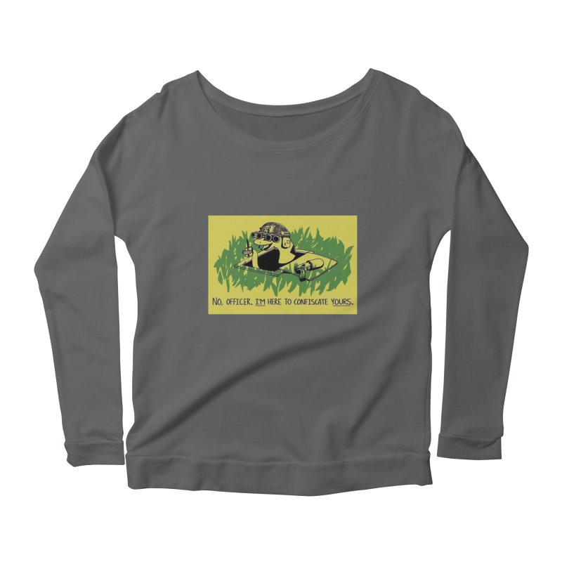 Confiscate This Women's Longsleeve T-Shirt by Black Market Designs
