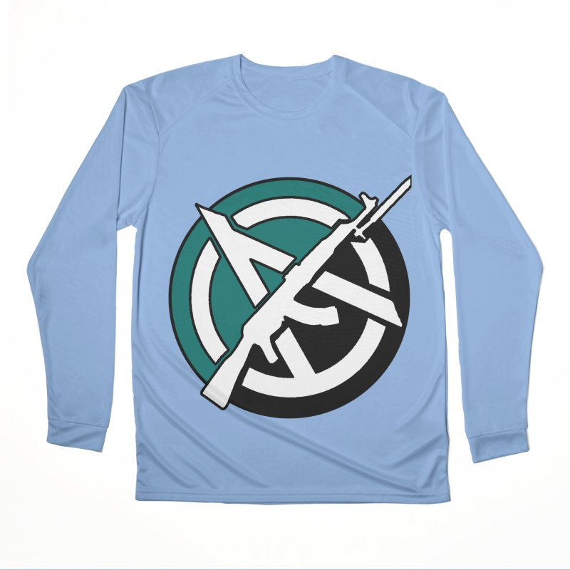 Egoist Anarchy Men's Longsleeve T-Shirt by Black Market Designs