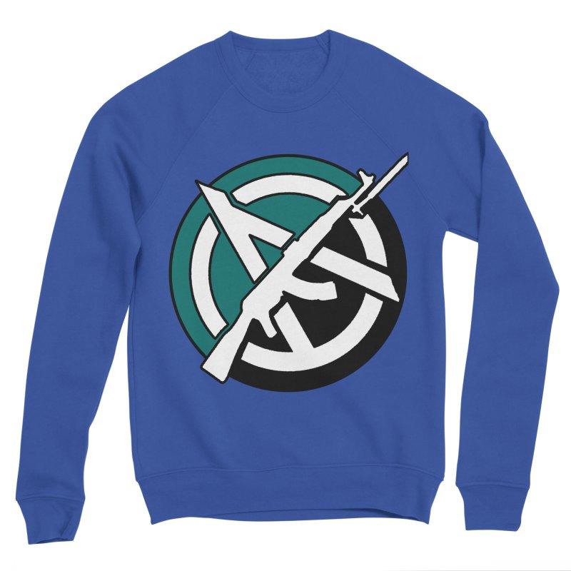 Egoist Anarchy Men's Sweatshirt by Black Market Designs