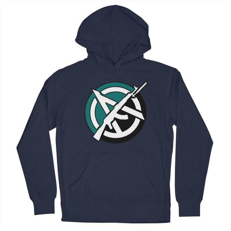 Egoist Anarchy Men's Pullover Hoody by Black Market Designs