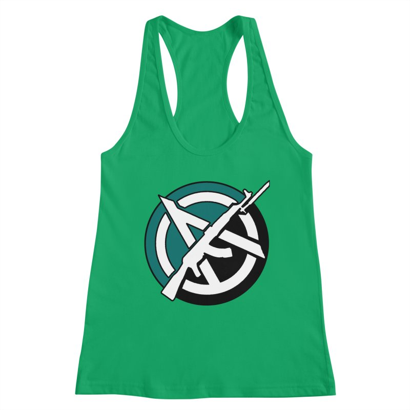 Egoist Anarchy Women's Tank by Black Market Designs