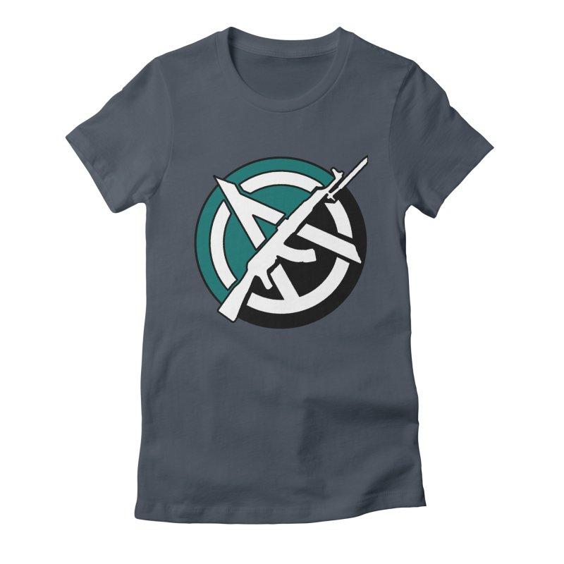 Egoist Anarchy Women's T-Shirt by Black Market Designs