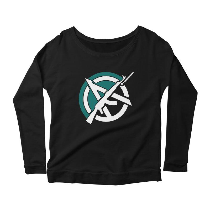 Egoist Anarchy Women's Longsleeve T-Shirt by Black Market Designs