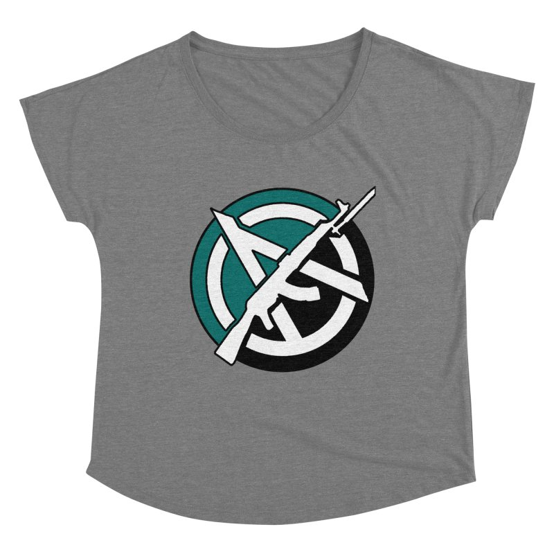 Egoist Anarchy Women's Scoop Neck by Black Market Designs