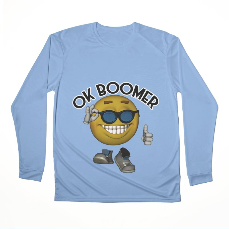 Ok Boomer Men's Longsleeve T-Shirt by Black Market Designs