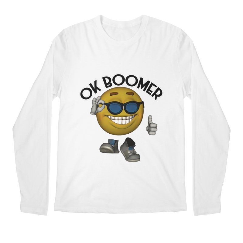 Ok Boomer Men's Longsleeve T-Shirt by Black Market Designs