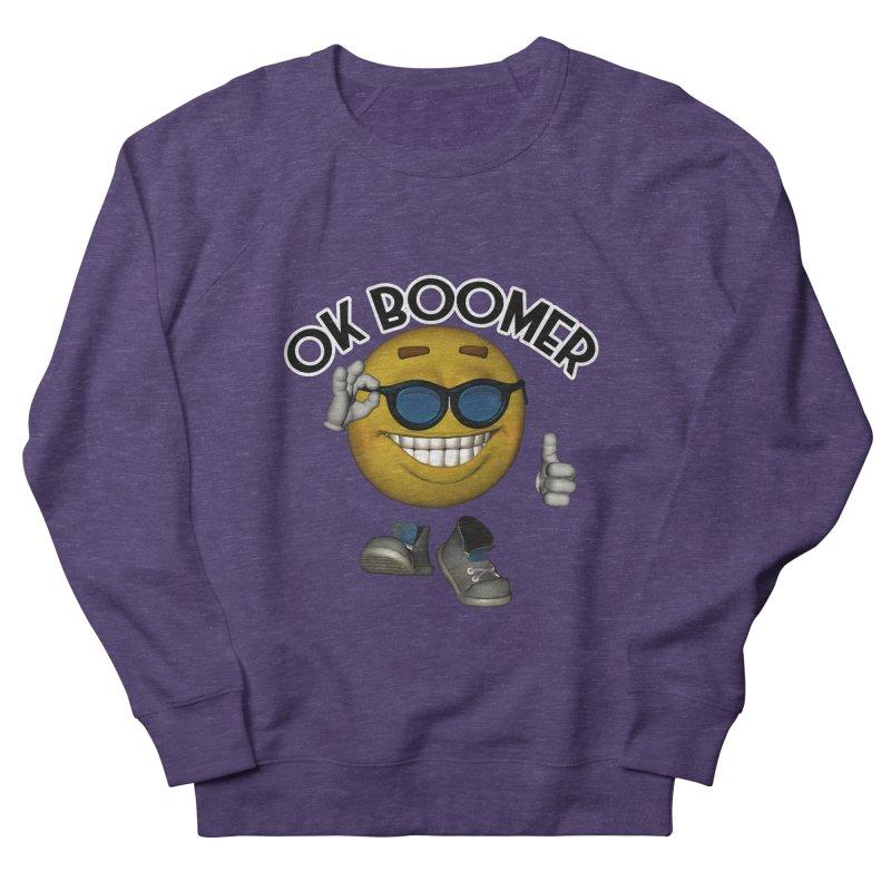 Ok Boomer Men's Sweatshirt by Black Market Designs