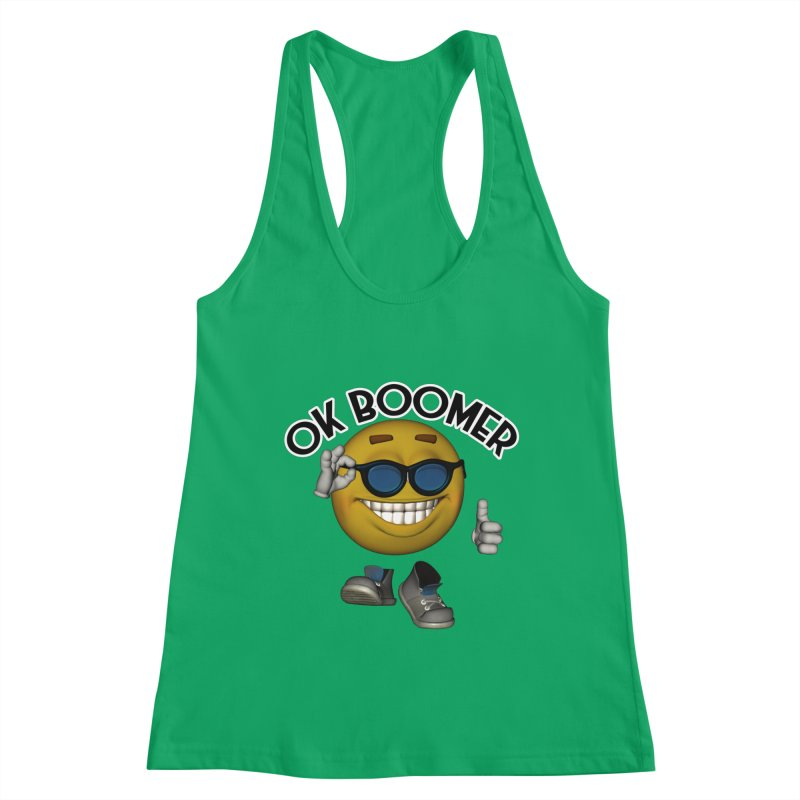 Ok Boomer Women's Tank by Black Market Designs