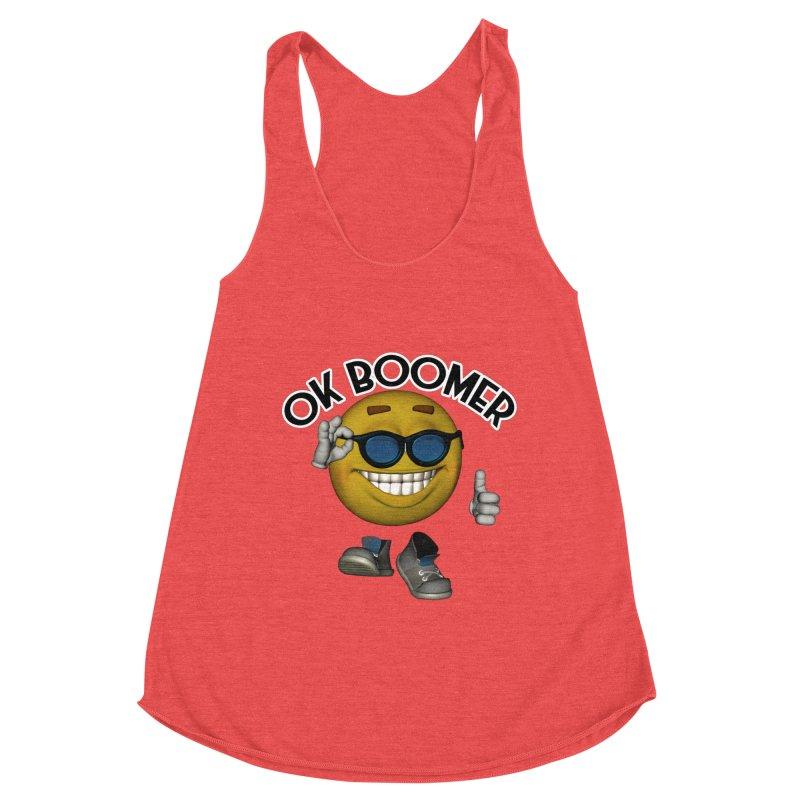 Ok Boomer Women's Tank by Black Market Designs