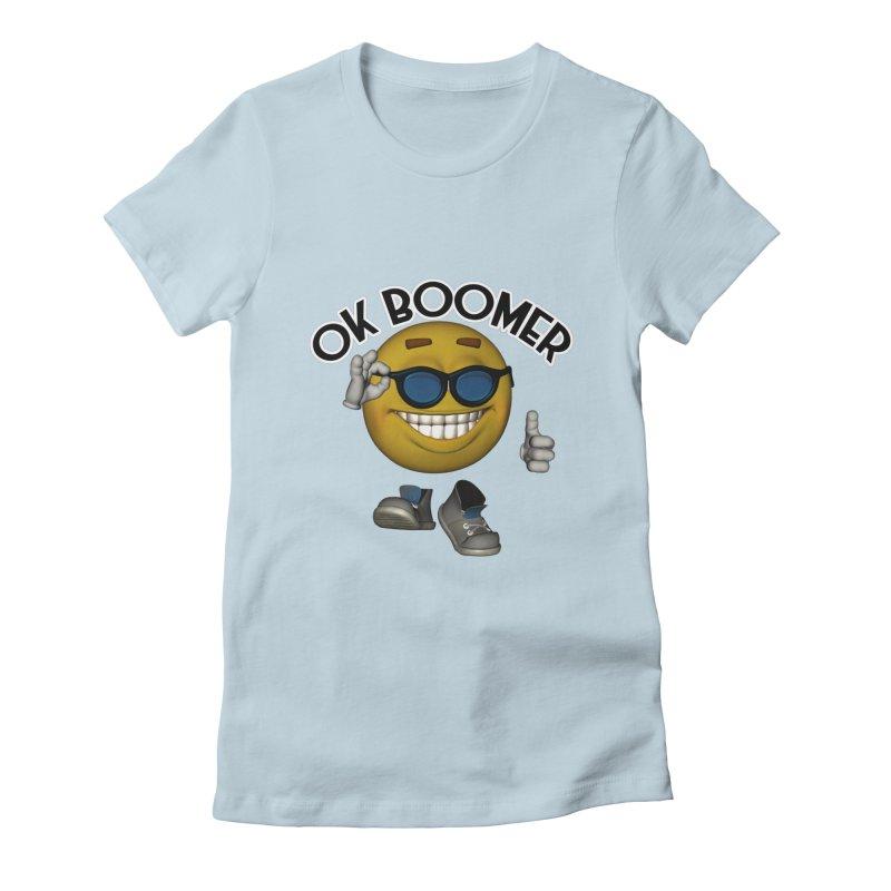 Ok Boomer Women's T-Shirt by Black Market Designs