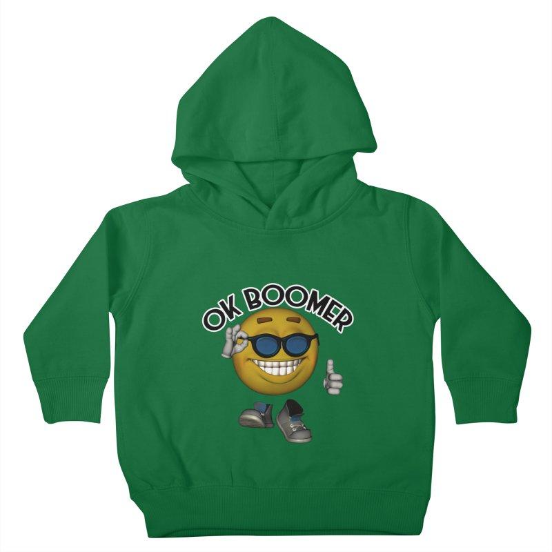 Ok Boomer Kids Toddler Pullover Hoody by Black Market Designs
