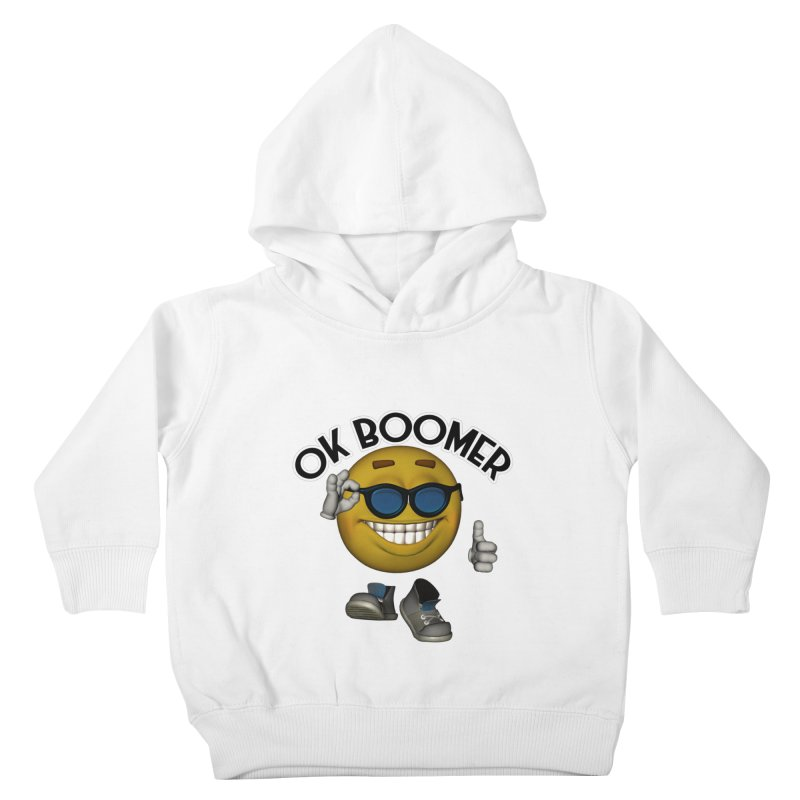 Ok Boomer Kids Toddler Pullover Hoody by Black Market Designs