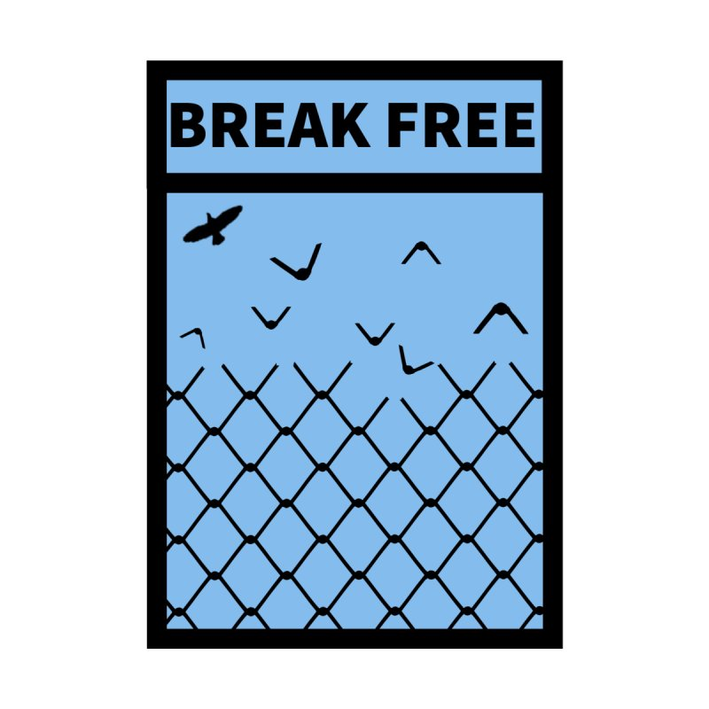 Break Free Men's T-Shirt by Black Market Designs