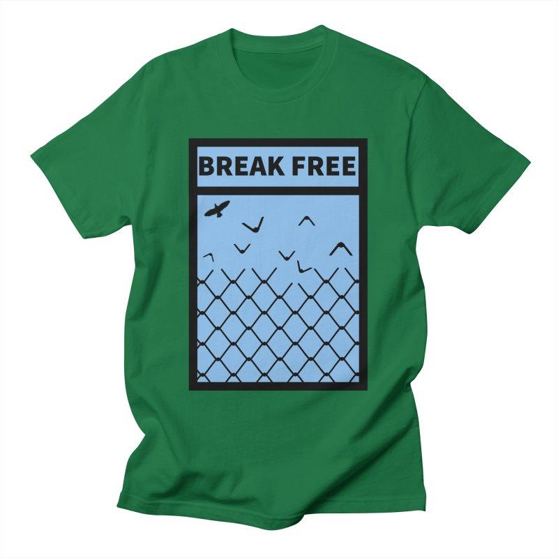 Break Free Men's T-Shirt by Black Market Designs
