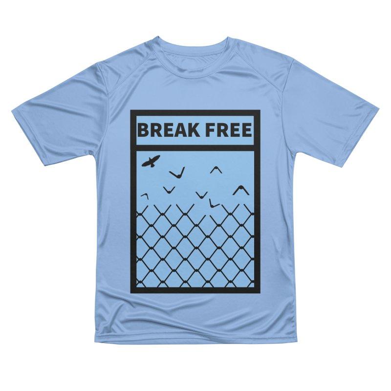 Break Free Women's T-Shirt by Black Market Designs