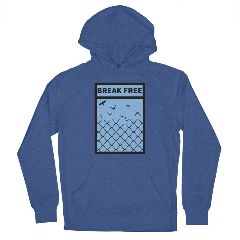 Break Free Men's Pullover Hoody by Black Market Designs