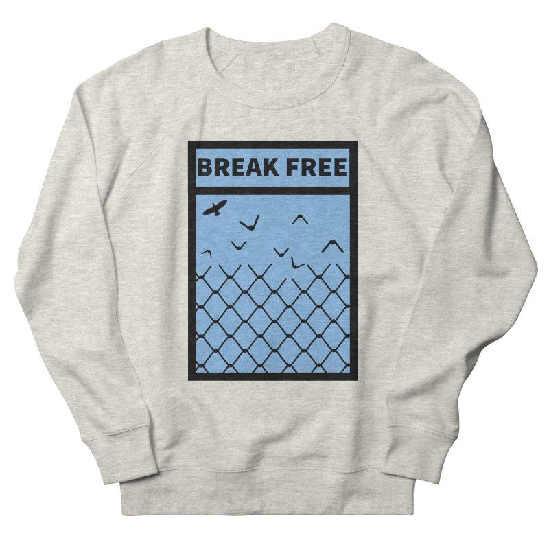 Break Free Women's Sweatshirt by Black Market Designs