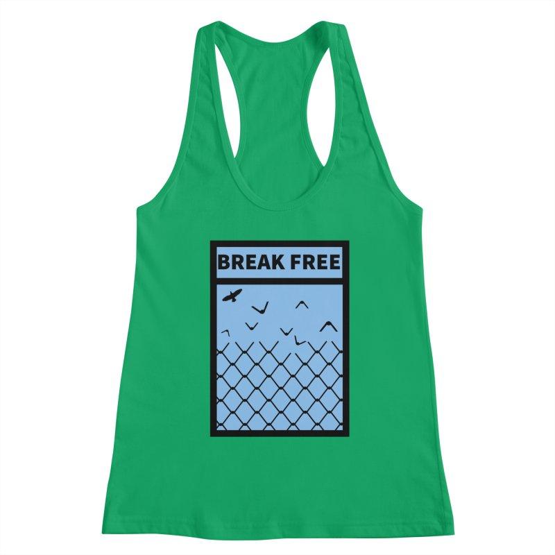 Break Free Women's Tank by Black Market Designs