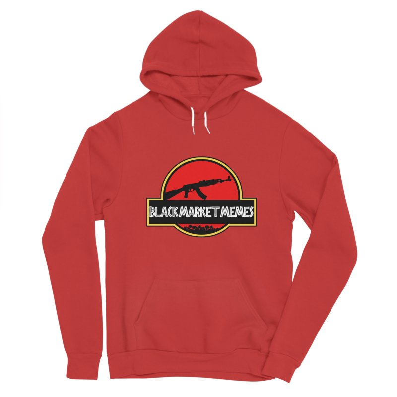 BMM AK Women's Pullover Hoody by Black Market Designs