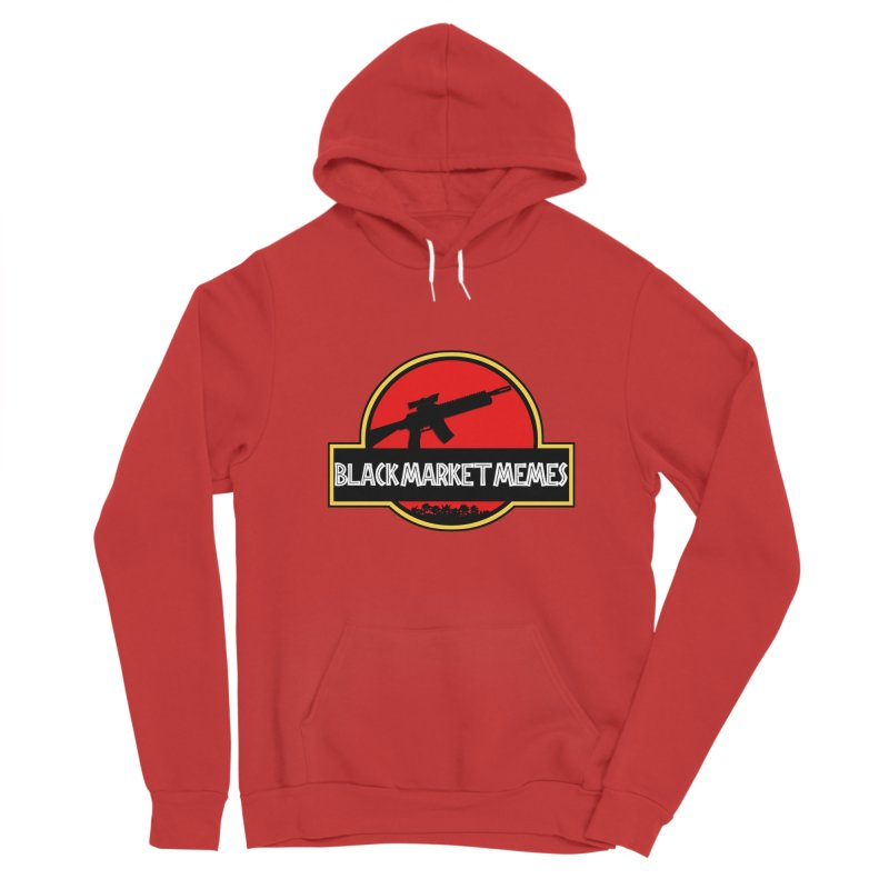 BMM AR Men's Pullover Hoody by Black Market Designs