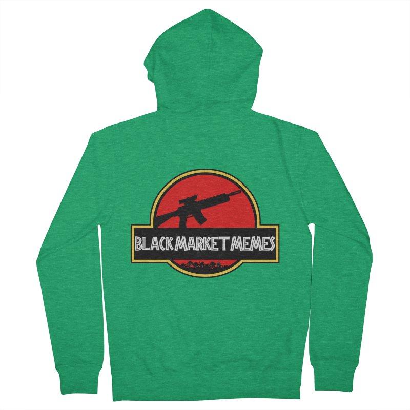 BMM AR Men's Zip-Up Hoody by Black Market Designs