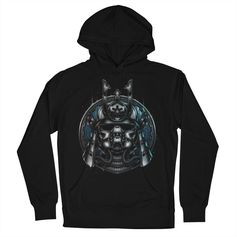 Samurai Soldier Women's Pullover Hoody by blackoutbrother's Artist Shop