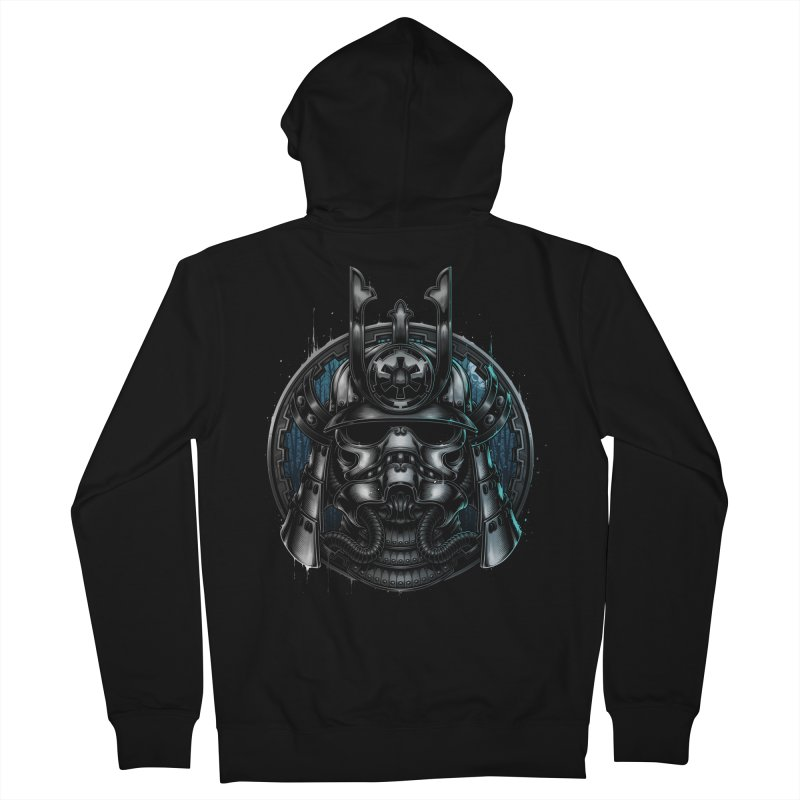 Samurai Soldier Men's Zip-Up Hoody by blackoutbrother's Artist Shop