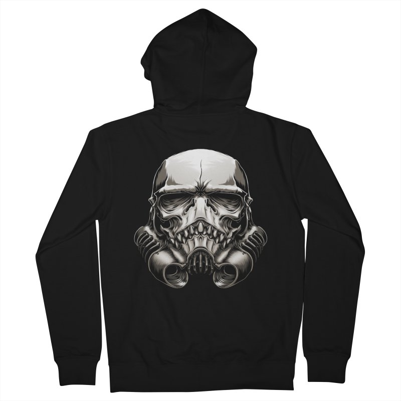 Skull Trooper Men's Zip-Up Hoody by blackoutbrother's Artist Shop