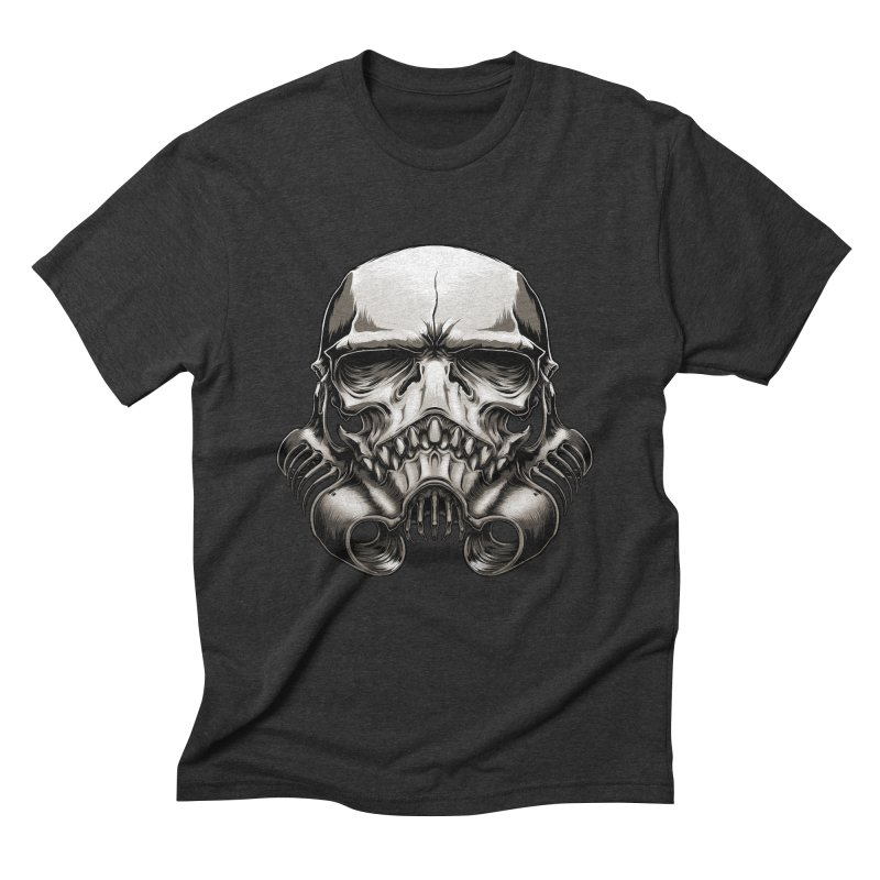 Skull Trooper Men's Triblend T-Shirt by blackoutbrother's Artist Shop