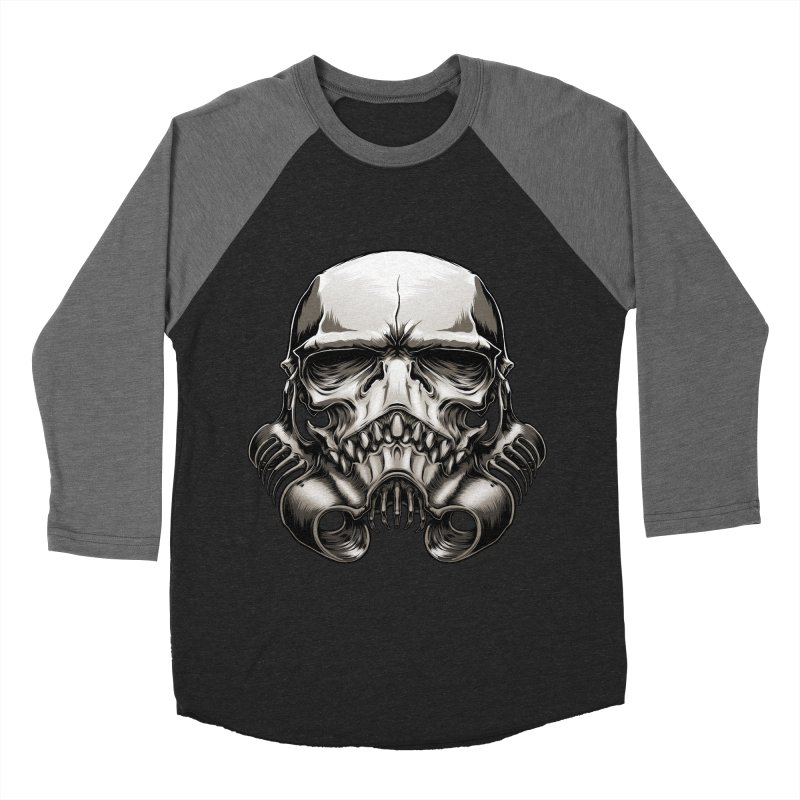 Skull Trooper Women's Baseball Triblend T-Shirt by blackoutbrother's Artist Shop