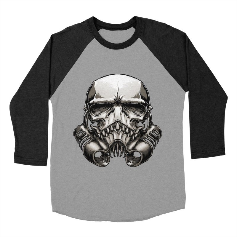 Skull Trooper Men's Baseball Triblend T-Shirt by blackoutbrother's Artist Shop