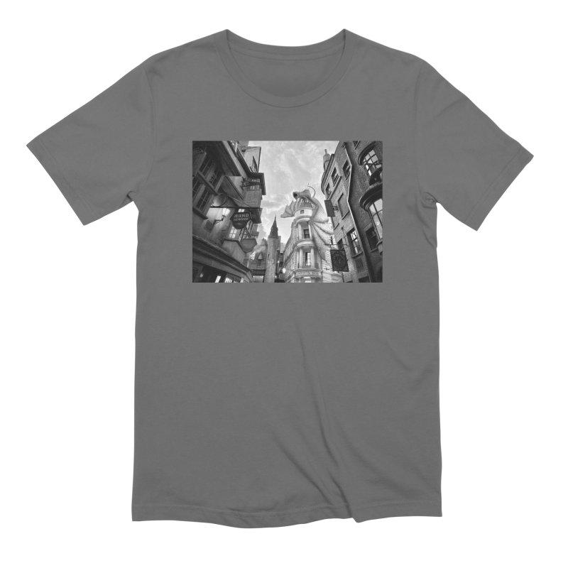 Diagon Alley Men's T-Shirt by Black Rhino Studios