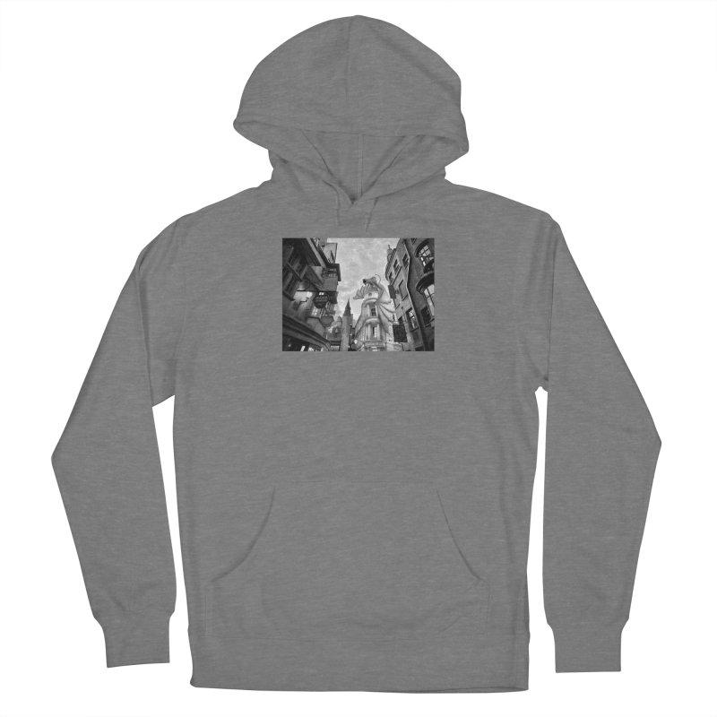 Diagon Alley Men's Pullover Hoody by Black Rhino Studios