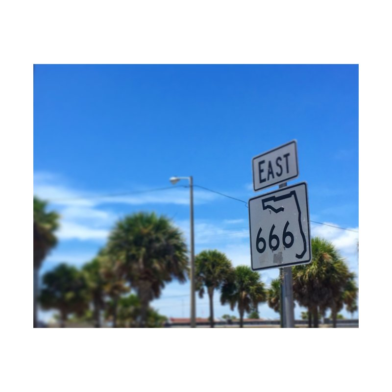 666 E Mad Beach Men's Pullover Hoody by Black Rhino Studios