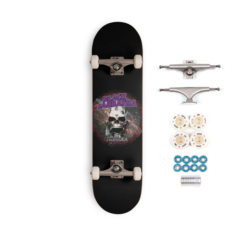 SID in Space Accessories Complete - Premium Skateboard by Black Sabbatha Soul Swag Swap