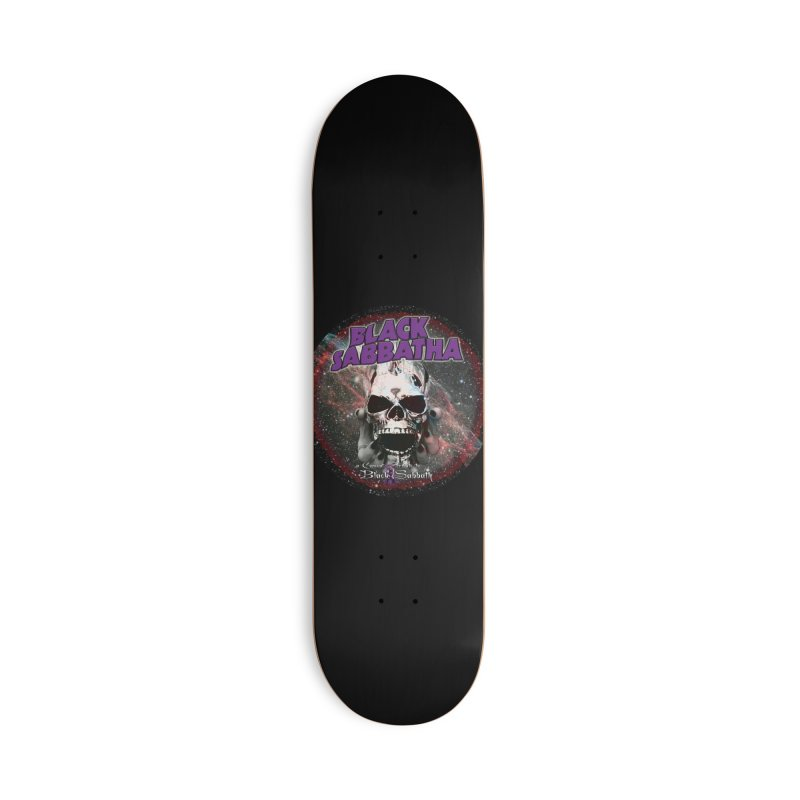 SID in Space Accessories Deck Only Skateboard by Black Sabbatha Soul Swag Swap