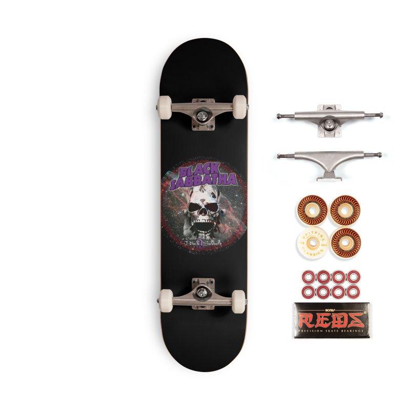 SID in Space Accessories Skateboard by Black Sabbatha Soul No FEAR
