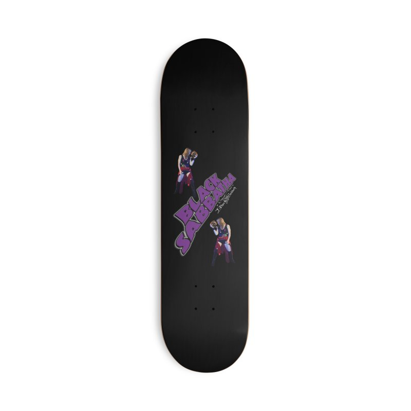 Lisi'Fer Skate Accessories Deck Only Skateboard by Black Sabbatha Soul Swag Swap
