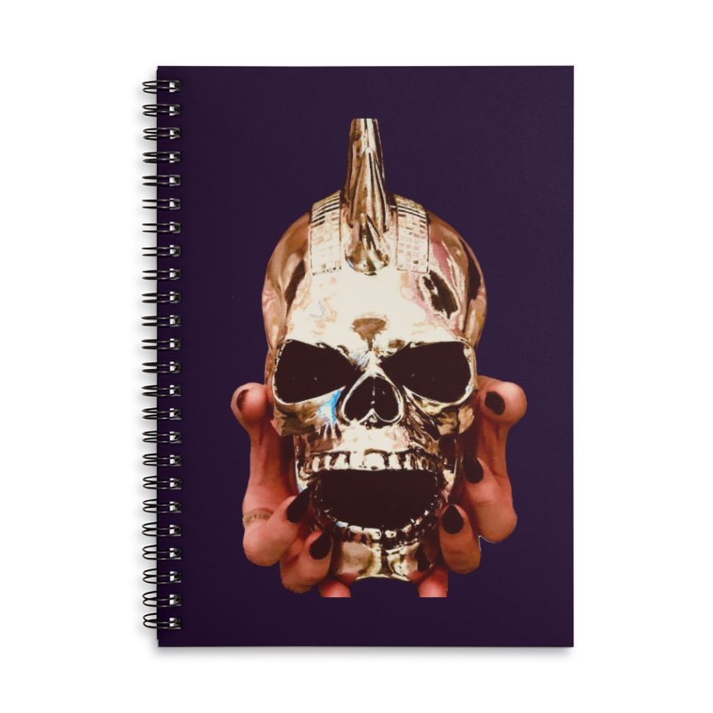 SID of Black Sabbatha Accessories Lined Spiral Notebook by Black Sabbatha Soul Swag Swap