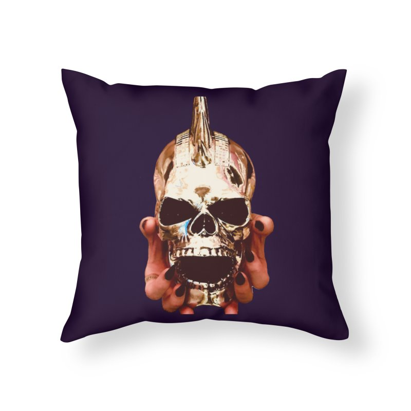 SID of Black Sabbatha Home Throw Pillow by Black Sabbatha Soul Swag Swap