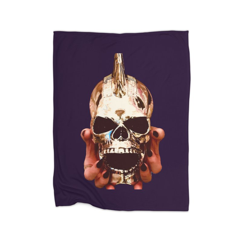 SID of Black Sabbatha Home Blanket by Black Sabbatha Soul Swag Swap